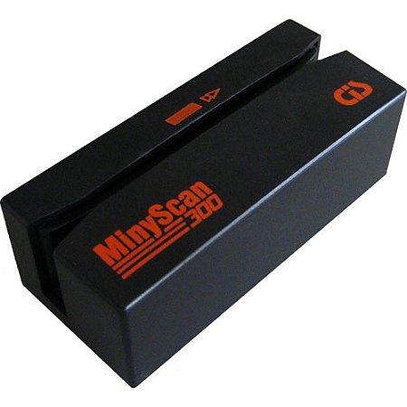 LEITOR MANUAL DE CHEQUES CMC7 MINYSCAN 300 PS2
