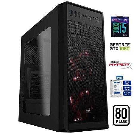 COMPUTADOR GAMER MK i5 8400 8GB DDR4 HD 1TB GEFORCE GTX 1060 6GB COFFEE LAKE
