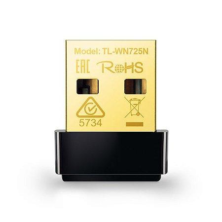ADAPTADOR USB WIRELESS TP-LINK TL-WN725N NANO 150MBPS