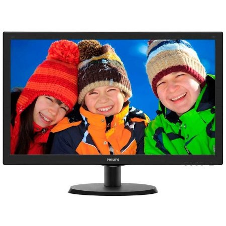MONITOR LED 23,6 PHILIPS 243V5QHABA FHD HDMI DVI VESA