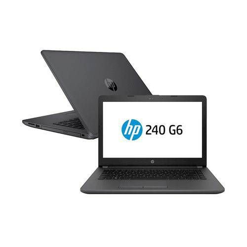 NOTEBOOK HP CM 240G6 I3 7020U 4GB HD 500GB TELA 14 WINDOWS 10 PROFESSIONAL 3XU36LA#AC4