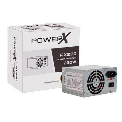 FONTE ATX 230W 20+4P POWER X