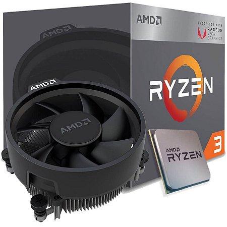 PROCESSADOR AMD RYZEN 3 2200G 3.7GHZ AM4 6MB CACHE