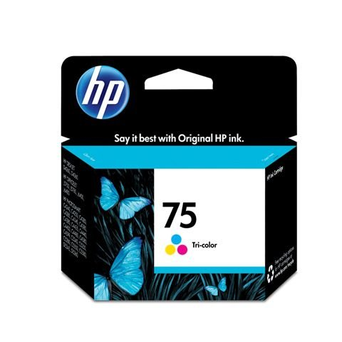CARTUCHO ORIGINAL HP 75 COLOR CB337WB 5,5 ML
