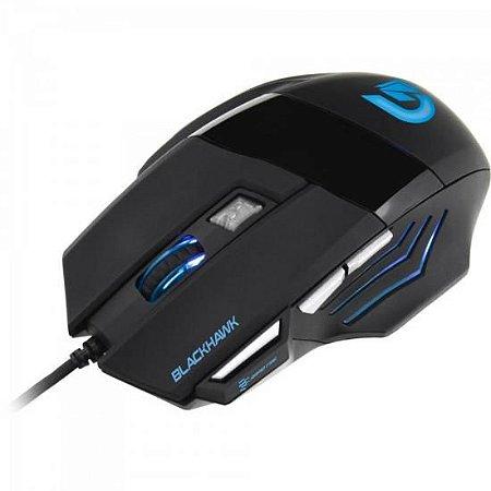 MOUSE GAMER FORTREK BLACK HAWK 2000DPI USB OM703PT