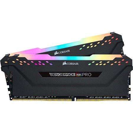 MEMORIA CORSAIR 16GB DDR4 (2X8GB) 2666MHZ VENGEANCE PRO RGB CMW16GX4M2A2666C16