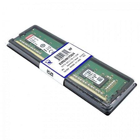 MEMORIA DESKTOP DDR4 4GB 2400 MHZ KINGSTON KVR24N17S6/4
