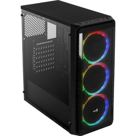 GABINETE GAMER AEROCOOL SI-5200 WINDOW RGB
