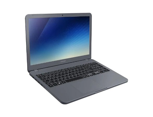 NOTEBOOK SAMSUNG ESSENTIALS E30 INTEL CORE i3-7020U 4GB HD 1TB TELA 15.6 FHD WINDOWS 10 HOME NP350XAA-KF1BR TITANIUM
