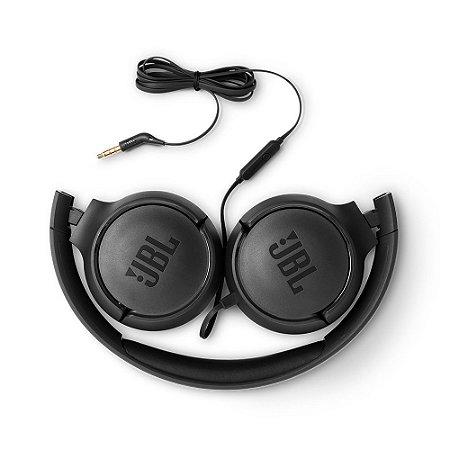 FONE HEADSET JBL ON EAR TUNE 500 PRETO