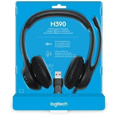 FONE HEADSET LOGITECH H390 USB