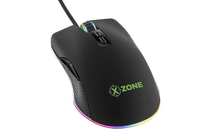 MOUSE GAMER XZONE GMF-02 16400 DPI RGB