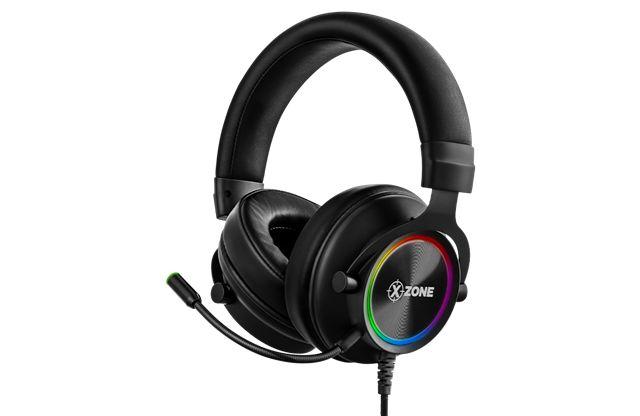 FONE HEADSET GAMER XZONE GHS-01 RGB C/SUPORTE