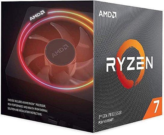PROCESSADOR AMD RYZEN R7 3700X 3.6 GHZ (TURBO 4.4GHz) AM4  65W 32MB CACHE