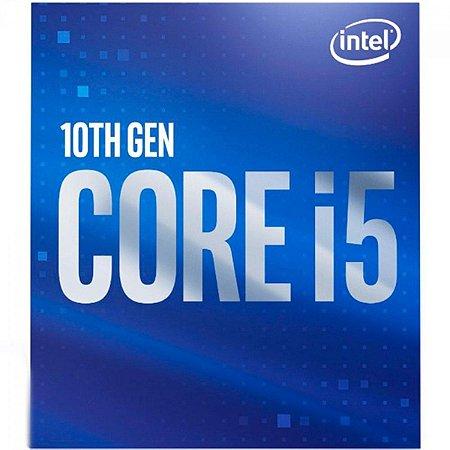 PROCESSADOR INTEL CORE i5-10400F 2.9GHZ(4.30GHZ MAX TURBO) 12MB LGA 1200 COMET BX8070110400