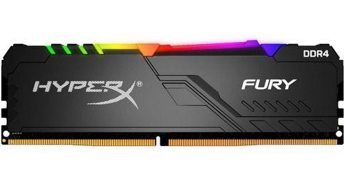 MEMORIA DESKTOP DDR4 8GB 2666 MHZ HYPER X FURY RGB KINGSTON HX426C16FB3A/8