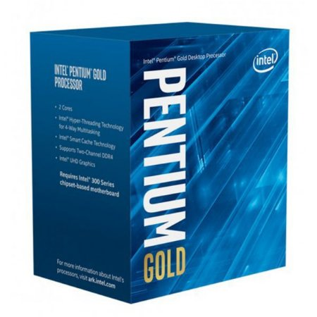PROCESSADOR INTEL PENTIUM GOLD G6400 COMET LAKE 4.0 GHZ 4MB BX80701G6400