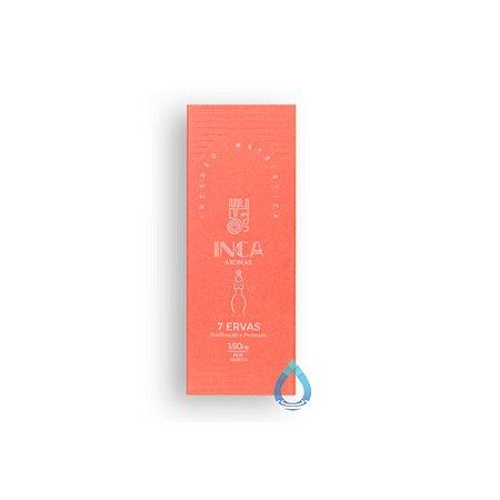 Incenso Natural Inca 7 Ervas – 09 varetas