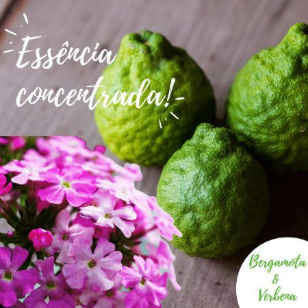 Essência Bergamota e Verbena 100g