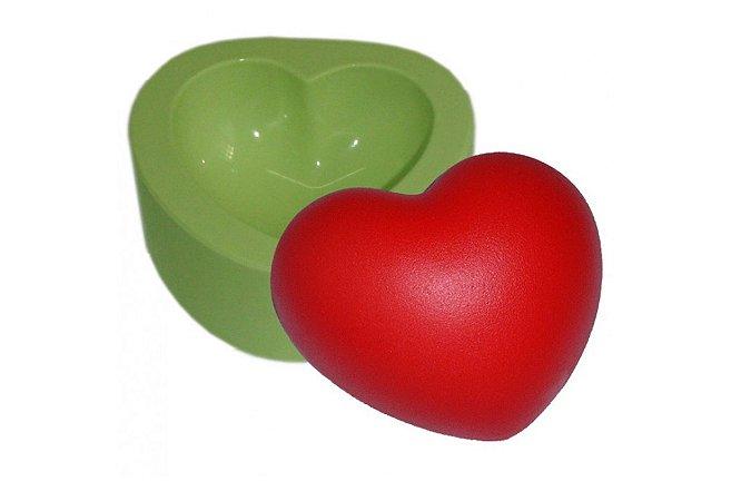Fôrma De Silicone Coração Gordo