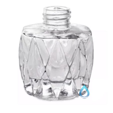 Frasco Oval Cristal 80 Ml 28/410