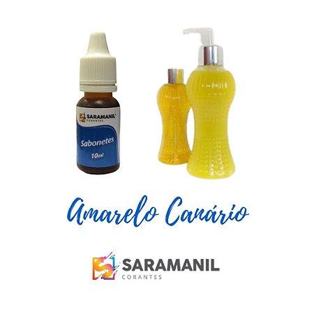 CORANTE PARA SABONETES 10ML AMARELO CANÁRIO
