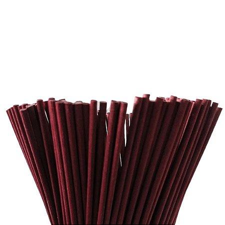 Vareta de Fibra Vinho para Difusor de Ambiente 4 mm x 25 cm - Unidade