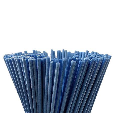 Vareta de Fibra Azul 4 mm x 25 cm - Unidade