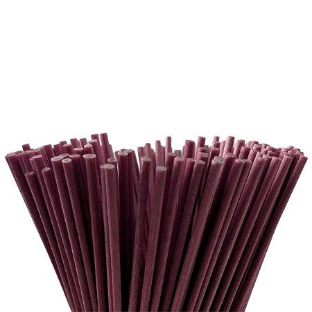 Vareta de Fibra Lilás 4 mm x 25 cm - Unidade