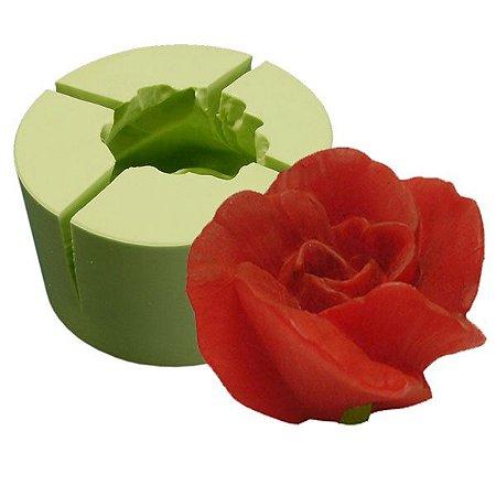Forma de silicone Flor Azaléia