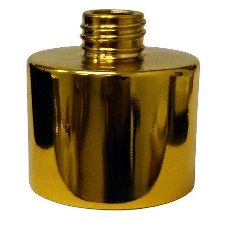 Frasco Redondo Dourado 100 Ml 28/410