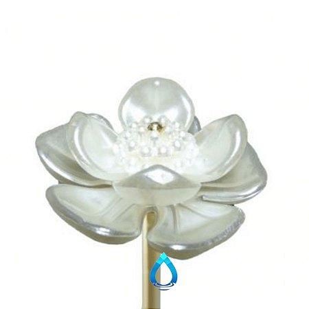 Vareta Para Difusor de Ambiente Flor Branca