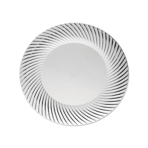 Prato Refeição Silverplastic 6X1