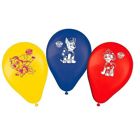 Balão Patrulha Canina 9'' 25X1