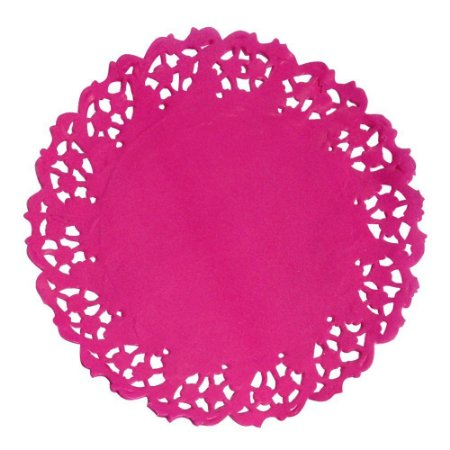 RENDA DE PAPEL ANTI GORDURA MAGO PINK 50X1
