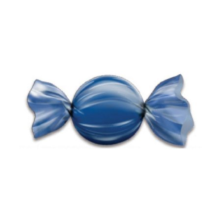 Papel Chumbo Carbex Para Trufas E Bombons Azul Escuro 15X16CM 100 Folhas