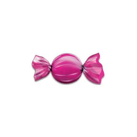 Papel Chumbo Carbex Para Bombons Pink 10X10CM 300 Folhas