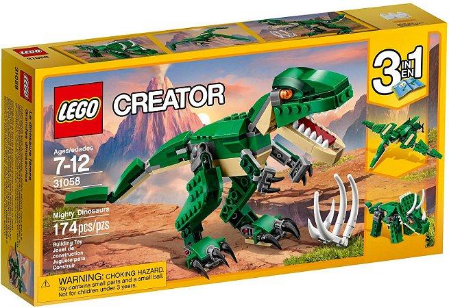 LEGO Creator 31058 Dinossauros 3 em 1