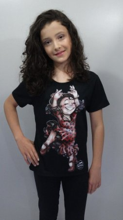 Baby Look - 186-DN Gitana de Bolinha
