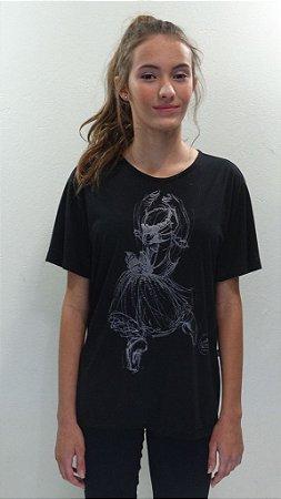Camisa Básica Preta - 008-DN LA SYLPHIDES