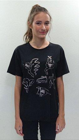 Camisa Básica Preta - 266- DN GRD