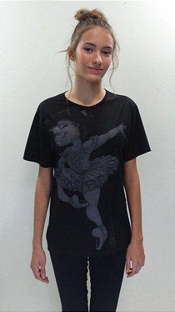Camisa Básica Preta- 163-DN AURORA 2 P&B