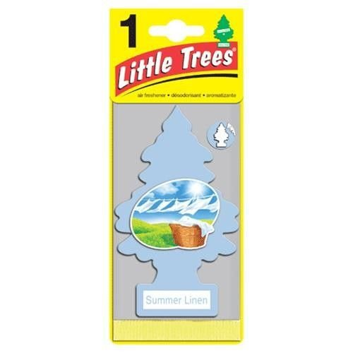 Aromatizante Importado Little Trees Original - Summer Linen