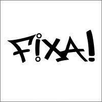 """Adesivo em Recorte """"Fixa!"""""""