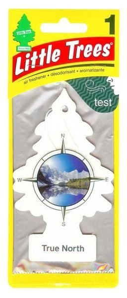 Aromatizante Importado Little Trees Original - True North