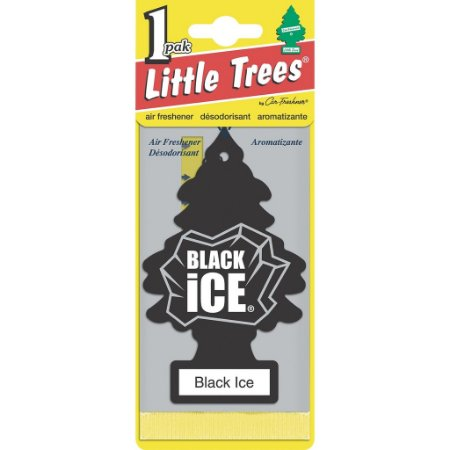 Aromatizante Importado Little Trees Original - Black Ice