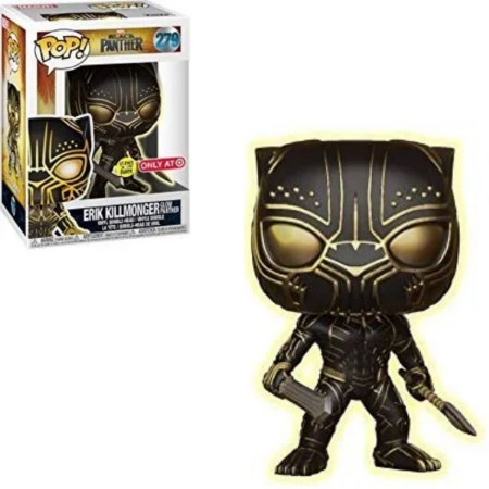 Funko Pop Black Panther 279 Erik Killmonger Glows In The Dark