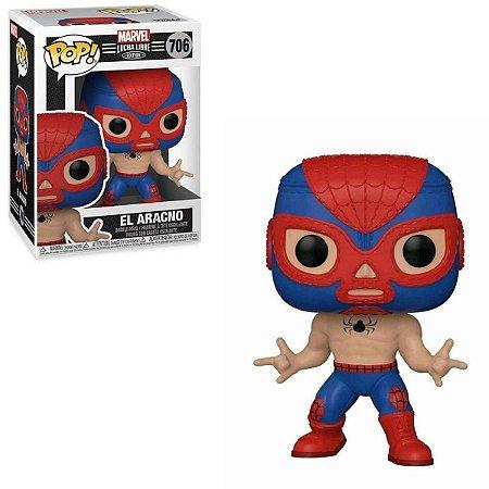 Funko Pop Marvel Lucha Libre 706 El Aracno Spider-man