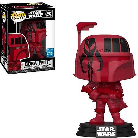 Funko Pop Star Wars 297 Boba Fett Rutura Red Edition