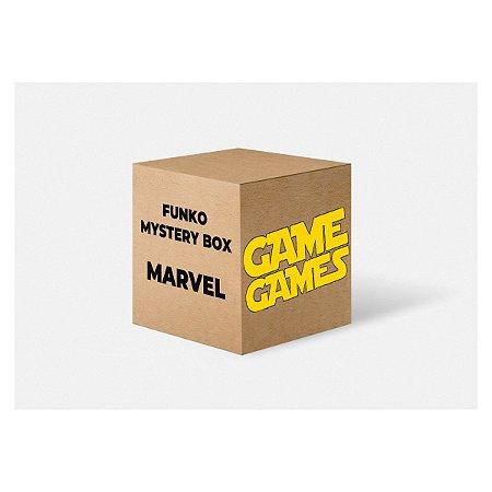 Funko Mystery Box GameGames - Marvel (Caixa com 6 Funkos Pop)